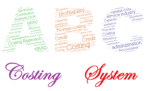 ABC costing system